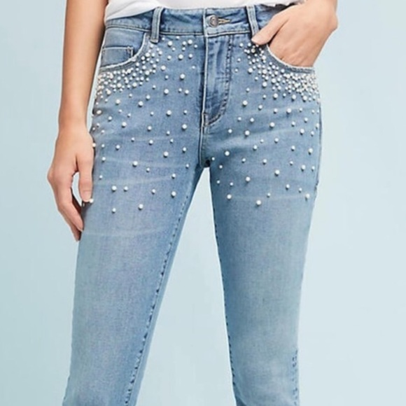 614cad01d2f78a Anthropologie Jeans | Pilcro And The Letterpress Pearl | Poshmark